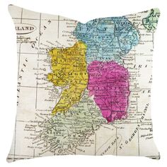 country pillow #Ireland