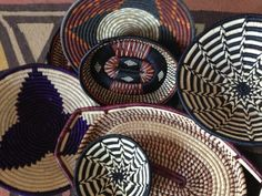 Handwoven SISAL Baskets from Uganda