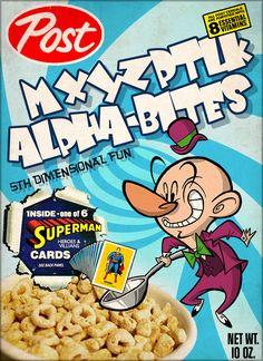 Fun SUPERMAN Cereal BoxArt - News - GeekTyrant