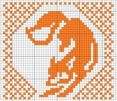 "Совместное вязание рукавичек с лисичками. ""Лисья норка.""   Вязание. Жаккард - ""Зимняя радуга"" Fox Pattern, Mittens Pattern, Knit Mittens, Knitting Charts, Knitting Stitches, Knitting Patterns, Filet Crochet, Crochet Chart, Cross Stitch Charts"