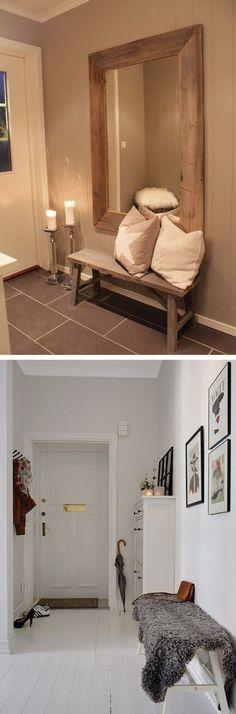 ideas para decorar el pasillo y la entrada a tu casa con un estilo moderno