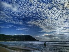 Probably my last beach photo from my #monthingoa. Today at the Taj Holiday Village near Calangute where the sky was crazy beautiful. Impossible to edit without making it look fake but this is just HDR  believe it or not. #traveldiary