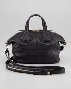 Givenchy Nightingale Micro Satchel Bag, Black $1,400.00