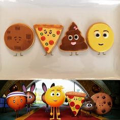 Emoji Movie cookies 2017