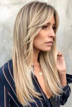 35 Long Layered Haircuts You Want to Get Now Stylish And Fu. - 35 Long Layered Haircuts You Want to Get Now Stylish And Fun Long Layered Haircuts ★ - Long Hair With Bangs And Layers, Haircuts For Long Hair With Bangs, Long Layered Haircuts, Long Wavy Hair, Long Hair Cuts, Hairstyles With Bangs, Straight Hairstyles, Cool Hairstyles, Layered Hairstyles