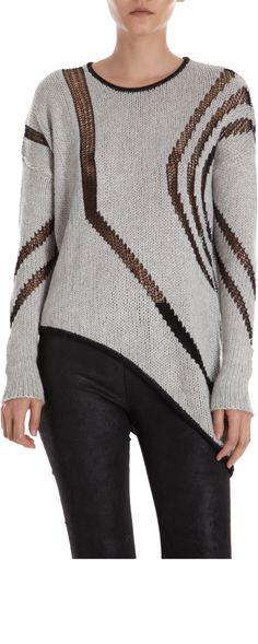 Helmut Lang Intarsia Sweater