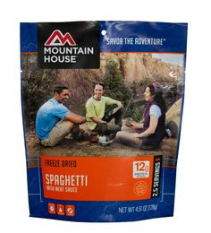Mountain House - Spaghetti with Meat Sause