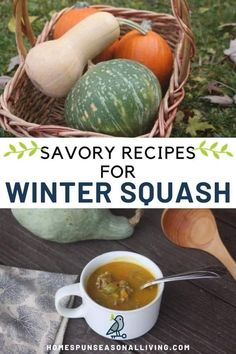 Nourish your body while comforting your soul with delicious and easy savory winter squash recipes. Find my curated collection of soup, side dish, and main course recipes for pumpkin butternut squash and more on the blog. Pumpkin Recipes, Fall Recipes, Whole Food Recipes, Drink Recipes, Bread Recipes, Baking Recipes, Dessert Recipes, Healthy Recipes, Homemade Breakfast