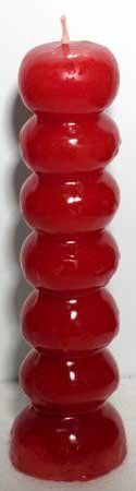 7 Knob Candle in Red * Read more reviews of the product by visiting the link on the image.