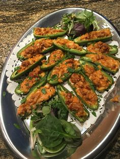 Jalopeno poppers Tandoori Chicken, Green Beans, Recipies, Vegetables, Ethnic Recipes, Food, Log Homes, Recipes, Veggies