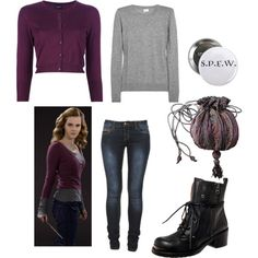 Hermione by jboothyy on Polyvore featuring polyvore, fashion, style, Snobby Sheep and Iris
