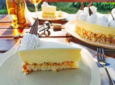I❤️Tokaj torta tonkával Vanilla Cake, Mousse, Cheesecake, Meals, Cooking, Cook Books, Food, Gifts, Kitchen