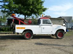 1967- Series 2A 109 Land Rover LWB Breakdown truck with Harvey Frost Crane