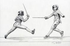 The Art of Fencing Portfolio 2009-2010 by Sascha Brock, via Behance ✤    CHARACTER DESIGN REFERENCES   キャラクターデザイン   çizgi film • Find more at https://www.facebook.com/CharacterDesignReferences if you're looking for: #grinisti #komiks #banda #desenhada #komik #nakakatawa #dessin #anime #komisch #drawing #manga #bande #dessinee #BD #historieta #sketch #strip #artist #fumetto #settei #fumetti #manhwa #koominen #cartoni #animati #comic #komikus #komikss #cartoon    ✤