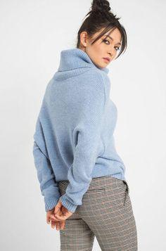 Oversize Pullover Oversize Pullover, Elegant, Highlights, Turtle Neck, Sweaters, Fashion, Soft Fabrics, Turtleneck, Long Sleeve