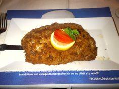 Large pork cordon bleu @ Restaurant La Brochette