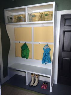 Mudroom Bench & Cubbies | Do It Yourself Home Projects from Ana White
