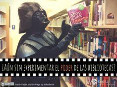 ¿Aún sin experimentar el poder de las bibliotecas?