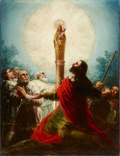 Goya - St James and Our Lady of the Pillar