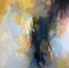 Transcendent Nature 1, 36x36 acrylic on canvas by Debora L. Stewart