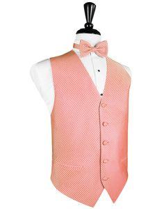 Coral Palermo Tuxedo Vest