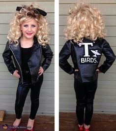 Awesomely cute costume of Sandy from Grease