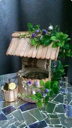 Fairies garden 164029611416303005 - 26 fairy garden ideas make your backyard feel magical 00022 Source by Popsicle Stick Houses, Popsicle Stick Crafts, Craft Stick Crafts, Fun Crafts, Diy And Crafts, Crafts For Kids, Craft Ideas, Garden Crafts, Home Crafts