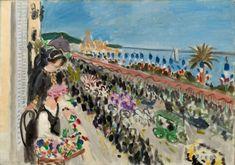 Henri Matisse - Festival of Flowers, Nice (Fête des fleurs), 1923.