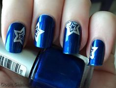 Oooh, Shinies!: HEMA blue with stars