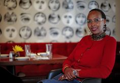 Rwandan student Fina Uwineza poses for a photo Tuesday at the restaurant Stella in Oklahoma City. Uwineza is part of the mentorship offered through the Peace Through Business program of the Institute for Economic Empowerment of Women.  Photo by Chris Landsberger, The Oklahoman