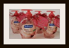 I was soapin' - For those of you that enjoy giving a cute yet practical gift, this is perfect. A great Valentine's gift idea for the teachers, daycare providers, co-workers, etc. in your life. Pin it to your board.