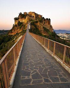 Civita Di Bagnoregio Bridge