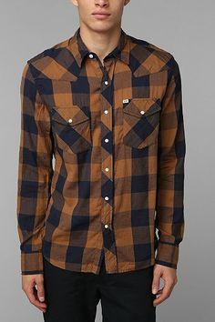 Salt Valley Buffalo Plaid Western Shirt