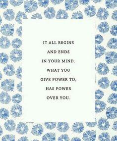 Mind power / kracht gedachten