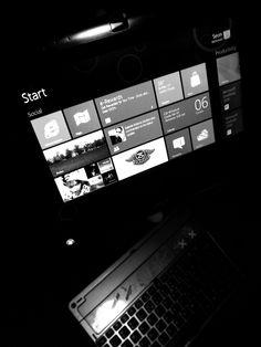 The new interface of #Windows8 #metro