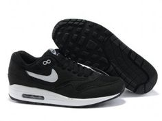 Nike Air Max 1 Men Black/White QASE2902