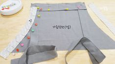 예쁜 주름 앞치마 만들기 : 네이버 블로그 Apron, Fashion, Japanese Clothing, Moda, Fashion Styles, Fasion, Aprons
