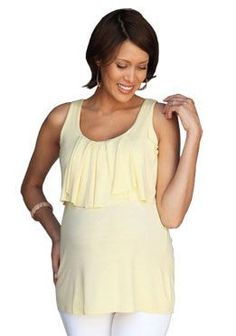 c2df3bf66aacd DIY Maternity Clothes  How to Make a No Sew Top