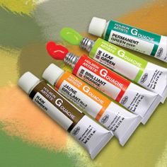 Holbein Artists' Gouache  (Opaque Water Colors)