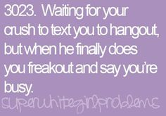 If I even had my crushes # #single girl problems