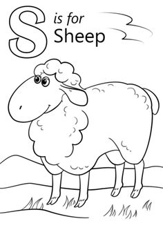 Sheep Face Coloring Page Cow Face Coloring Sheet Shakeprintco. Sheep Face Coloring Page Sheep Color Page Sheep Coloring Pages For Kids Moreover All Ca. Letter A Coloring Pages, Free Printable Coloring Pages, Coloring Pages For Kids, Kids Coloring, Letter S Worksheets, Letter Tracing, Sheep Face, Cow Face, Sheep Drawing