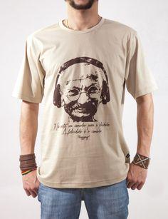 Camiseta Plugging Gandhi's Groove - Masculina.