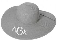 Grey Derby/Floppy Hat $17.95