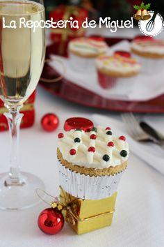 Cupcakes de Navidad | La Repostería de Miguel