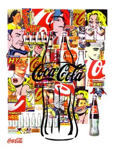 Coca Cola Poster. (2002) Designed by Lucas Risé.