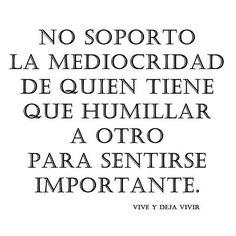 #mediocridad #humildad