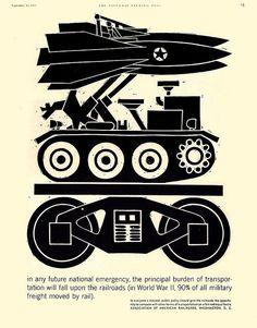 1960 ... war rail