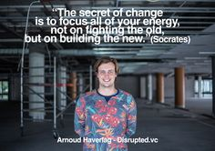 Arnoud Haverlag - founder @ www.disrupted.vc