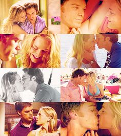 Dexter and Rita...Julie Benz as Rita- so sad when they killed her off! :(