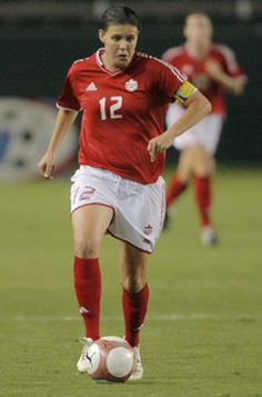 Christine Sinclair ~ Canadian Women's Soccer : )